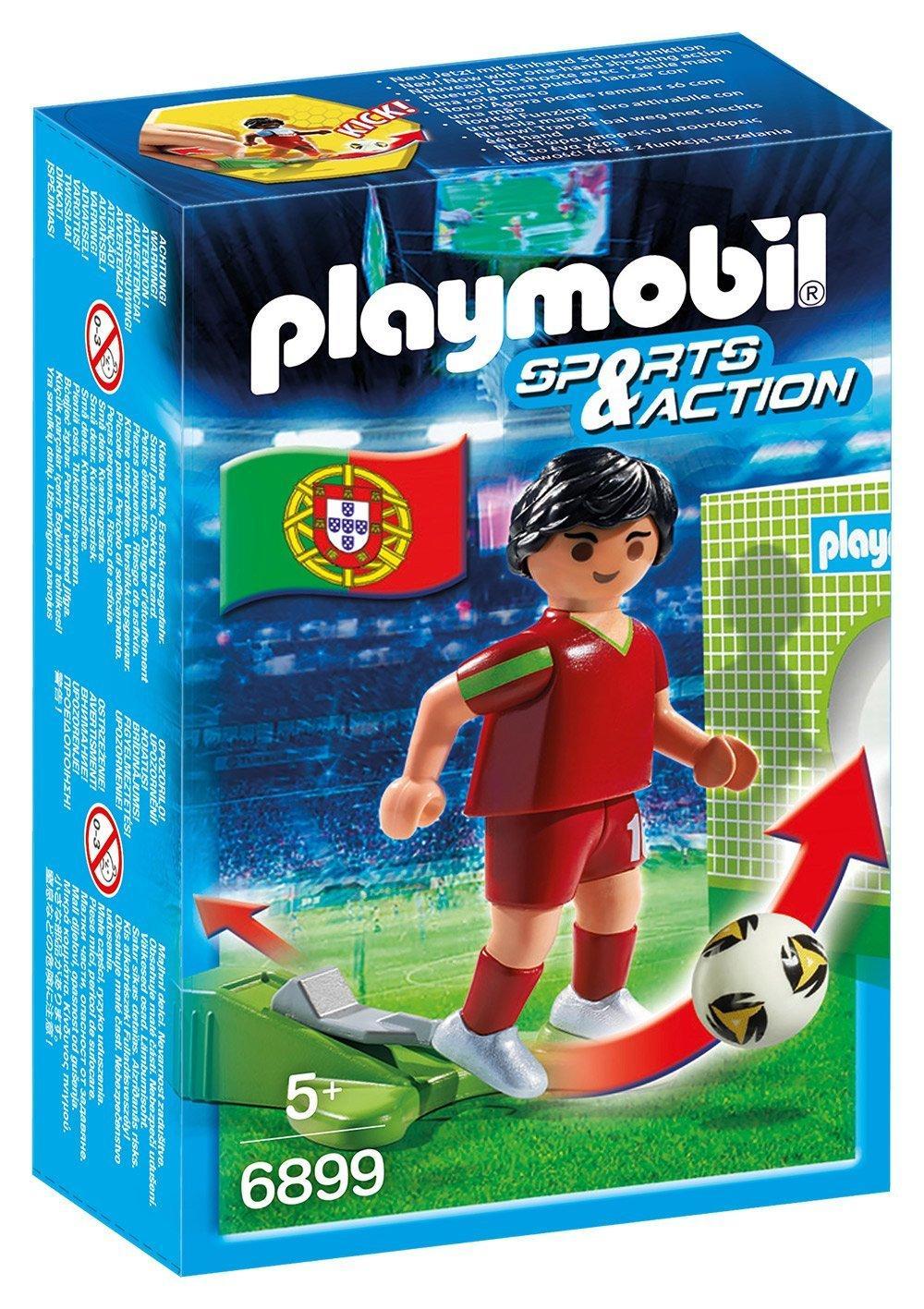 [Panier Plus] Jouet Playmobil Sports & Action - Joueur de football portugais