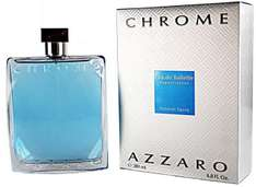 Eau de toilette Azzaro Chrome, flacon de 200 ml + flacon de 30 ml