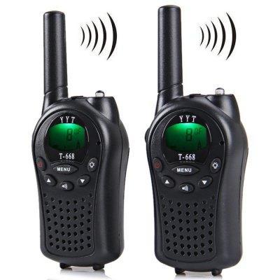 Lot de 2 talkies-walkies T-668 (portée 5 km)