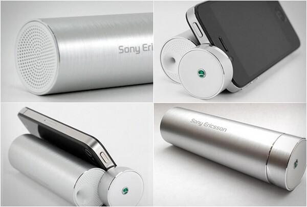 Mini enceinte Sony Ericsson MS430 Silver