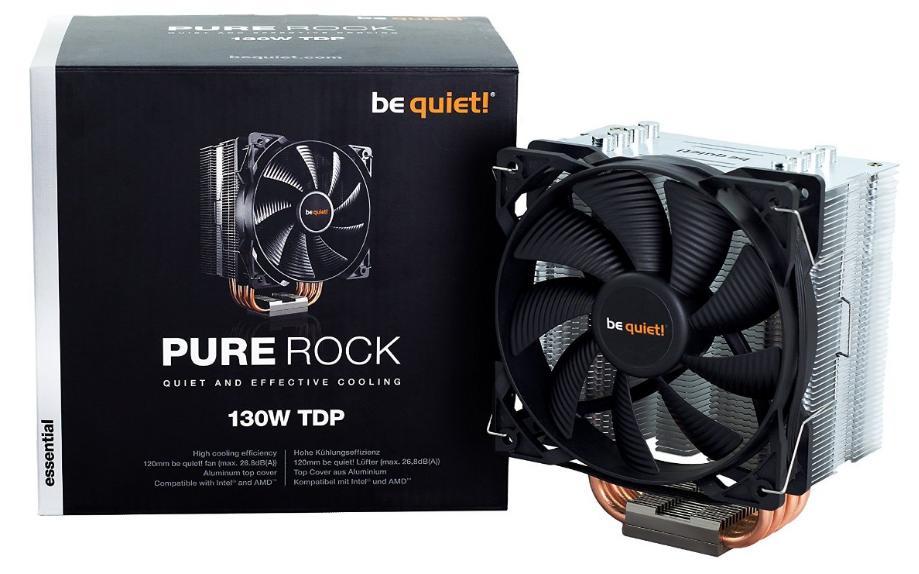 Ventilateur Be Quiet Pure Rock - 130W
