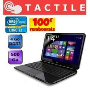HP Pavilion 14-b157ef Sleekbook Tactile (avec double ODR 100€ + 50€)