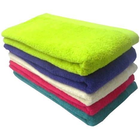 Drap de bain 70 x 140 coton 400gr/m² vert citron