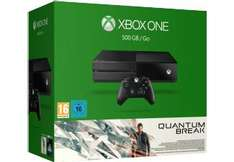 Pack console Microsoft Xbox One (500 Go) - Quantum Break + 2ème manette
