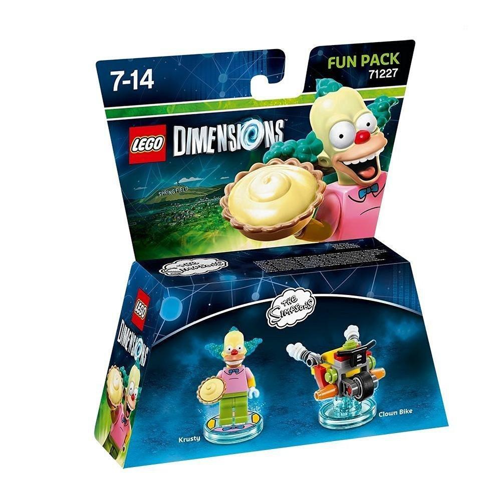 Figurine Lego Dimensions Les Simpson : Fun Pack - Krusty le Clown