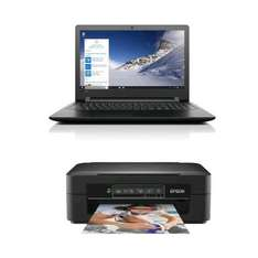 "Pack PC portable 15.6"" Lenovo IdeaPad (A6-7310, R5-M430, 8 Go de RAM, 1 To) + imprimante Epson XP235"