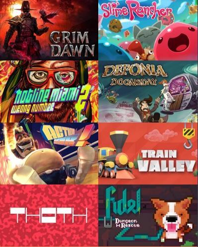 Humble Monthly Bundle Octobre : Grim Dawn + 7 jeux sur PC (Dématérialisés - Steam)