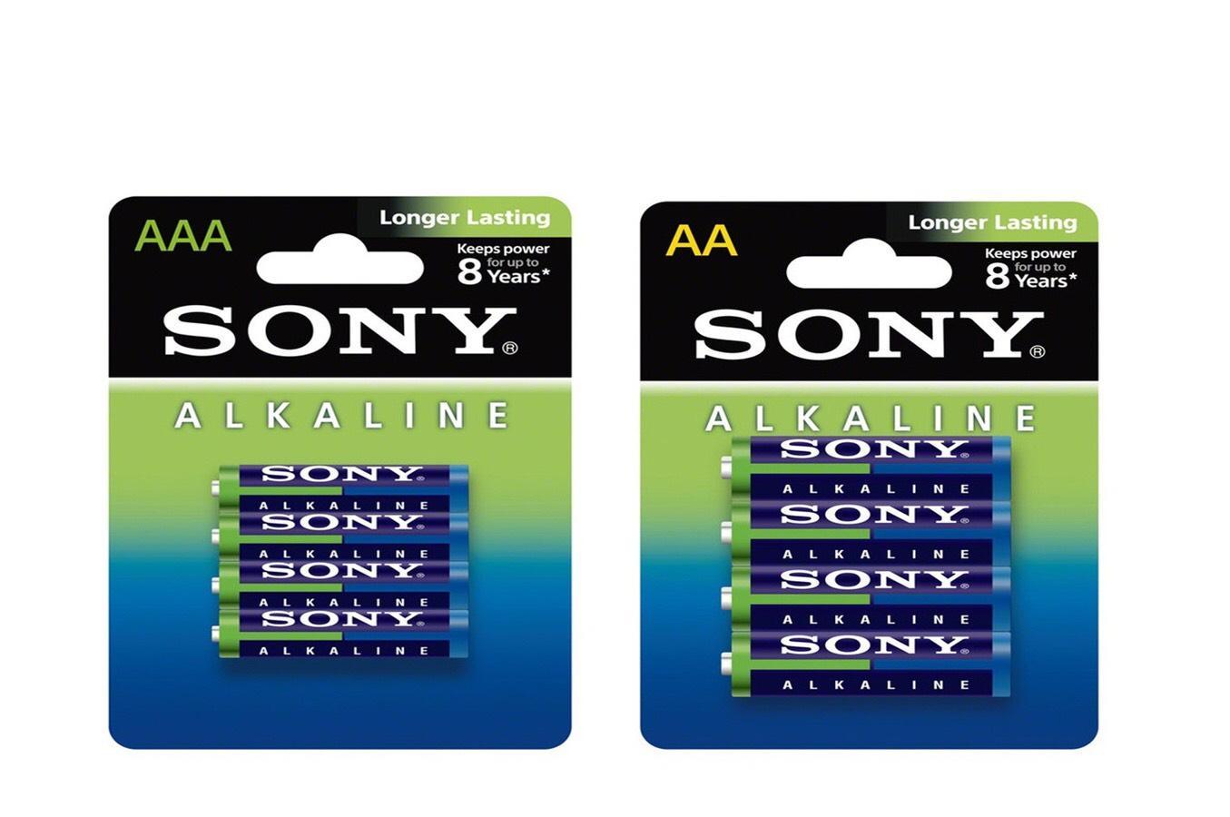 Pack de 60 piles Sony (32 AA + 28 AAA)
