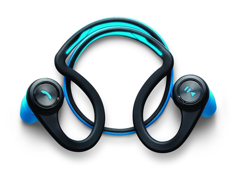 Casque audio sans-fil Plantronics BackBeat Fit (bleu) + brassard
