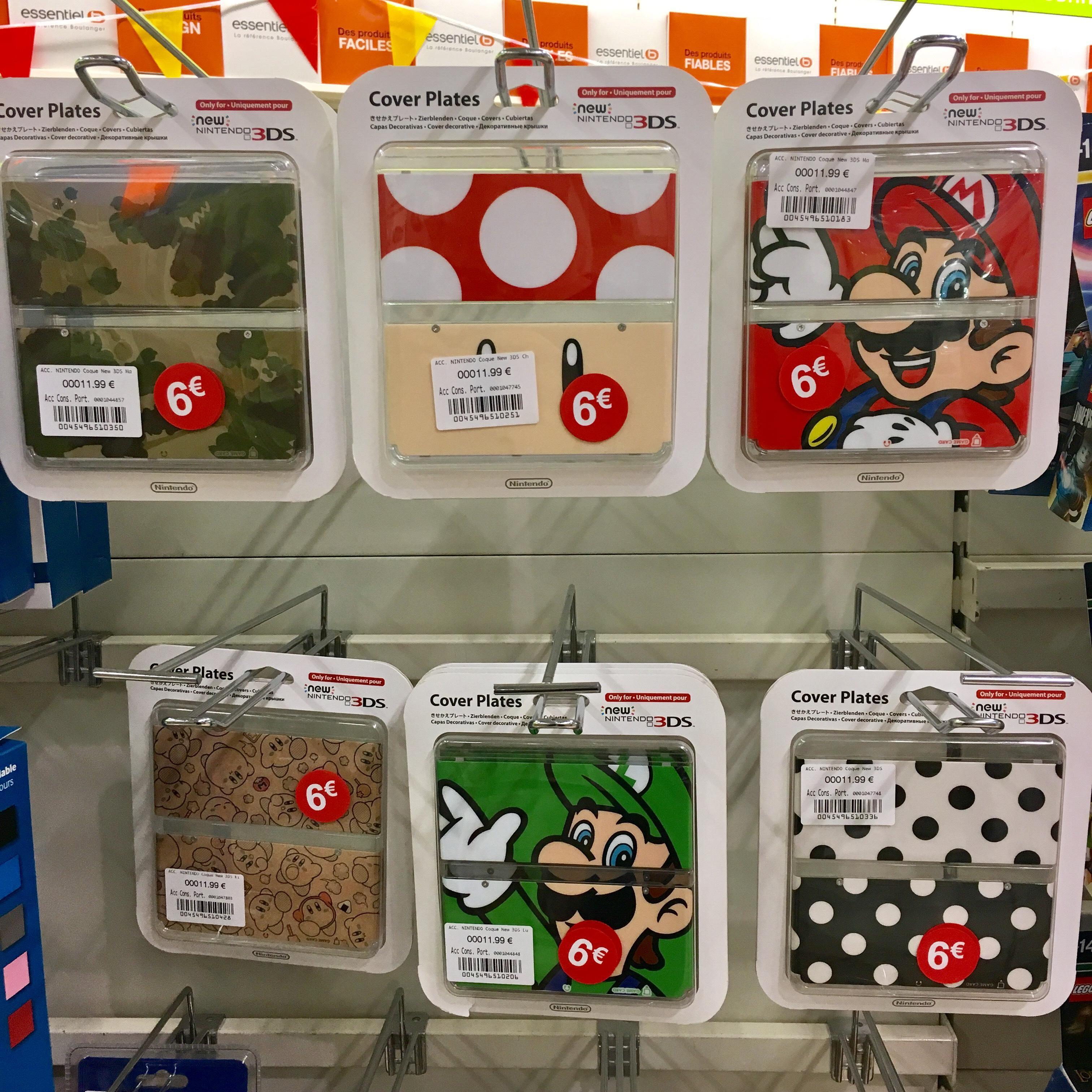 Sélection de Cover plates pour Nintendo New 3DS