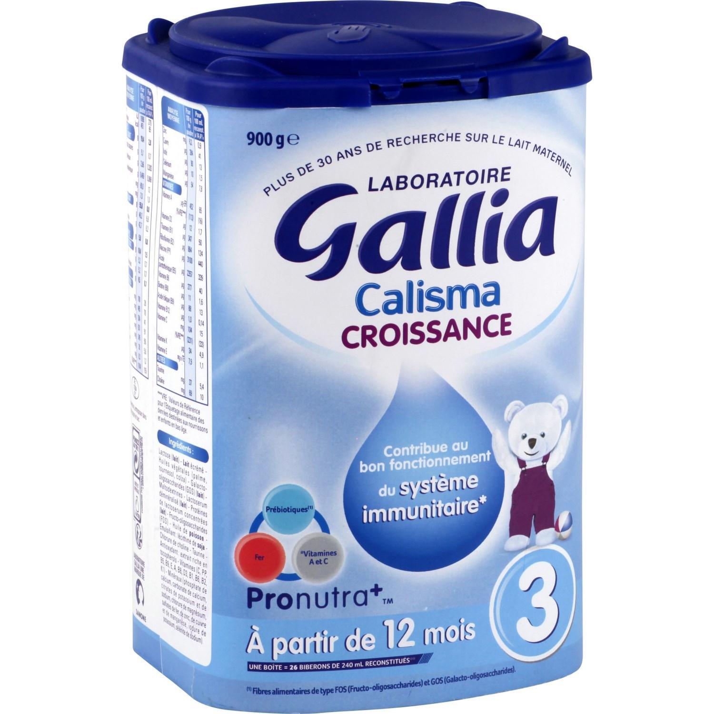 Lait bébé en poudre Gallia à partir de 12 mois (via 4.95€ sur la carte + BDR + appli Coupon Network)