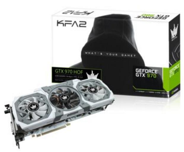 Carte graphique KFA2 GeForce GTX 970 HOF - 4 Go DDR5 V2 + Contenu Paragon