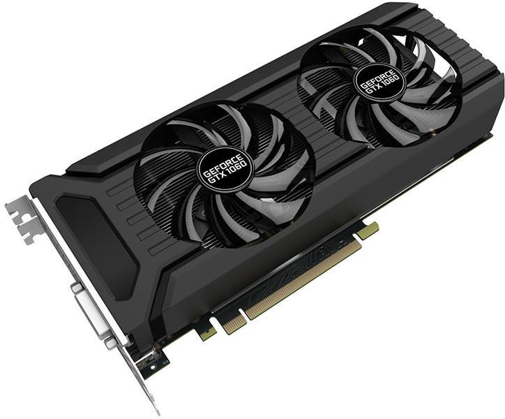 Carte graphique Palit XpertVision GeForce GTX 1060 Dual 3 Go GDDR5 (+ mode 0 dB)