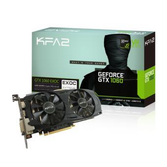 Carte graphique KFA2 GeForce GTX 1060 EXOC - 6 Go