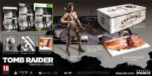 Tomb Raider Edition Collector sur XBOX 360 avec figurine [Import anglais - Jeu en anglais]