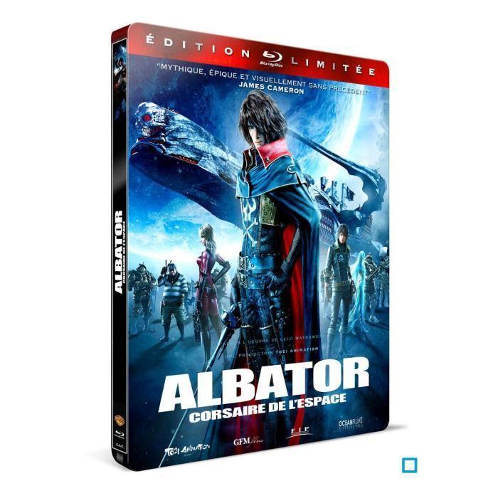 Blu-ray Albator (+ steelbook)