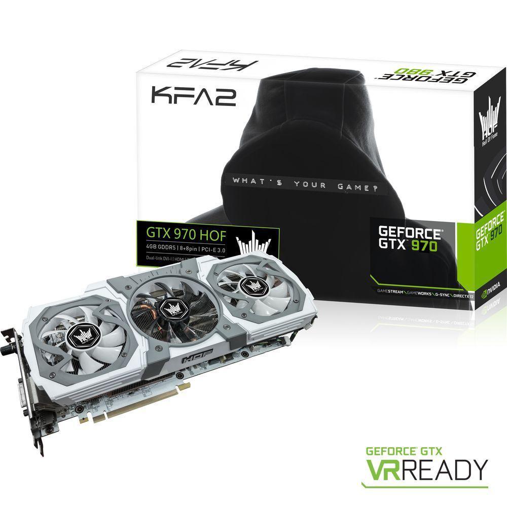 Carte graphique KFA2 GeForce GTX 970 HOF V2 (4 Go)
