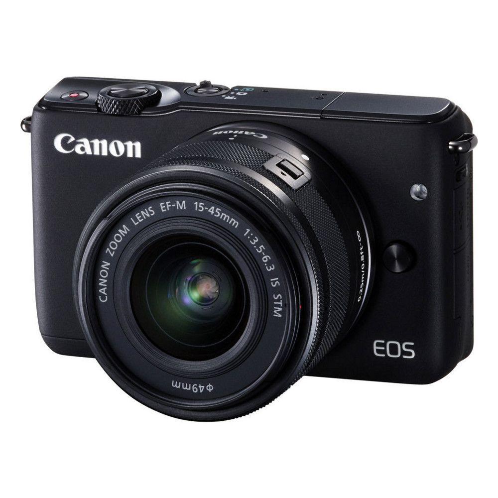 Appareil photo hybride Canon EOS M10 + Objectif EF-M 15-45 mm + 30€ en Bon d'Achats Utilisable sur  Amazon.es