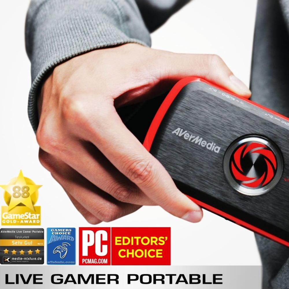 Boitier d'acquisition vidéo HD AverMedia Live Gamer Portable