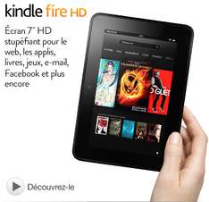 """Tablette Kindle Fire HD 7"""" 16Go"""