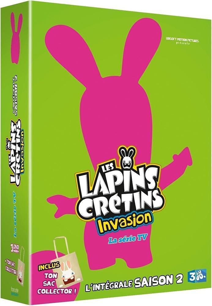 Coffret DVD Les Lapins Crétins Intégrale Saison 2 - Edition Limitée (Sac collector)