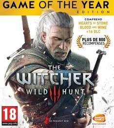 The Witcher 3 : Wild Hunt - Game of the Year Edition sur Xbox One (Dématérialisé)