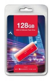 Clé USB 3.0 MyMemory 128 Go - Rouge