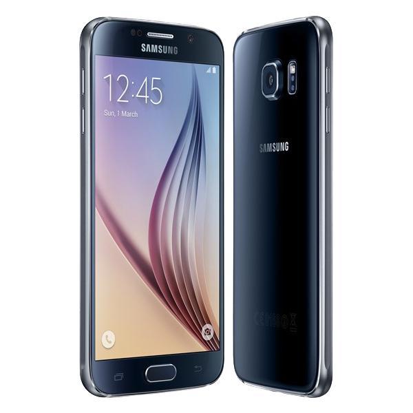 "Smartphone 5.1"" Samsung Galaxy S6 (Reconditionné) - 32 Go, Noir ou blanc"