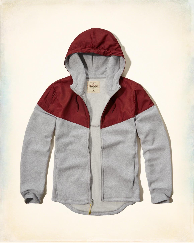 Jusqu'à 60% de réduction immédiate sur une sélection de Vêtements + Livraison gratuite - Ex: Veste Color Block Zippée pour Hommes (Gris / Rouge, Taille S)