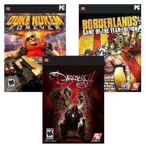 Borderlands GOTY + Duke Nukem Forever + The Darkness II sur PC (Dématérialisé)