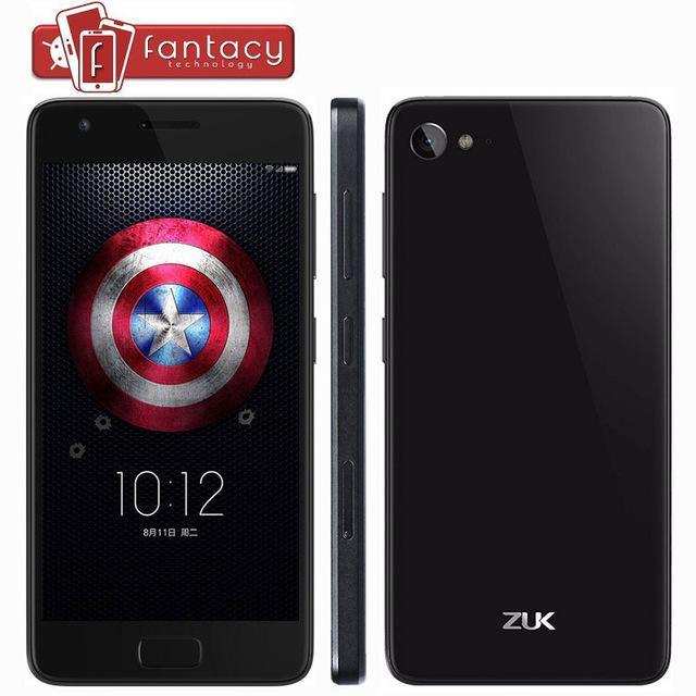 """Smartphone 5"""" Lenovo Zuk Z2, RAM 4 Go, ROM 64 Go, Snapdragon 820, FullHD blanc (sans garantie et via l'application mobile)"""