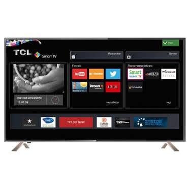 TV LED 55'' TCL U55C6916 - 4K, Smart TV (Via ODR 69,9€)