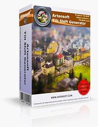Logiciel Artensoft Tilt Shift Generator gratuit -PC-