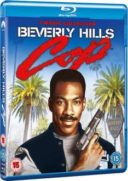 Bluray Trilogie Le flic de Beverly Hills