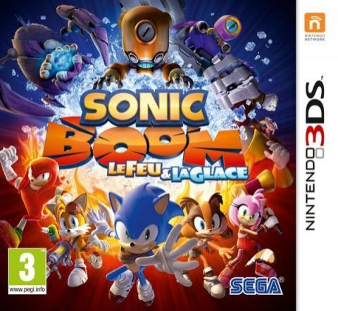 Sonic Boom: le Feu et la Glace sur 3DS