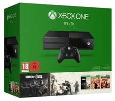 Pack Console Xbox One (1 To) + Tom Clancy's Rainbow Six: Siege + Tom Clancy's Rainbow Six: Vegas + Vegas 2