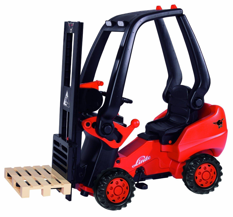 Chariot élévateur pour enfant Linde (max. 50 kg de charge)