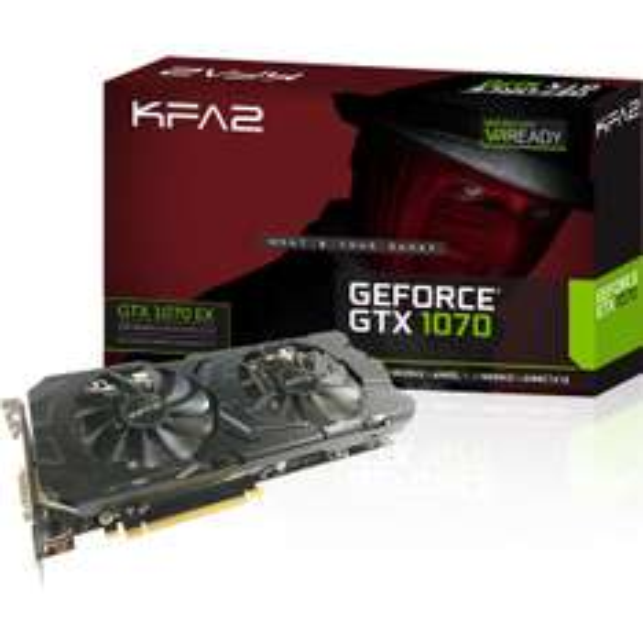 Carte graphique KFA2 GeForce GTX 1070 EX Aktiv - 8 Go