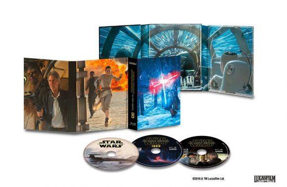 Coffret Blu-ray 3D Star Wars : Le Réveil de la Force (édition Collector)