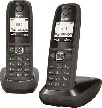 Lot de 2 téléphones sans-fil Gigaset AS405 Duo - noir