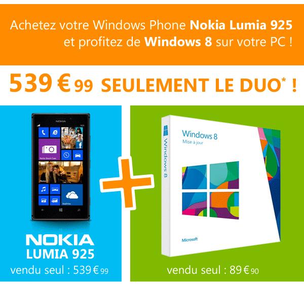 Nokia Lumia 925 + Windows 8 (MAJ)