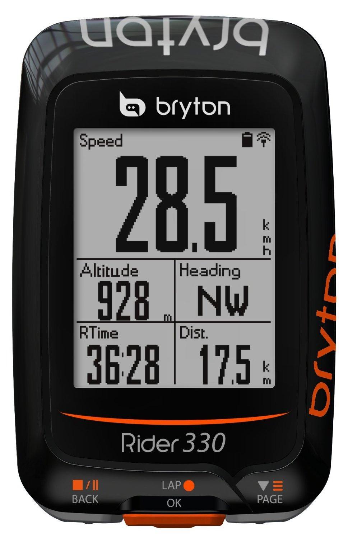 Compteur / GPS pour vélo Bryton Rider 330-E