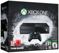Console Xbox One 1 To + Rise of the Tomb Raider + Tomb Raider Definitive Edition