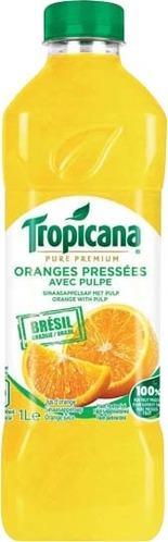 Sélection de produits en promotion - Ex : lot de 2 bouteilles de Tropicana Orange pressée avec pulpe - 1 L