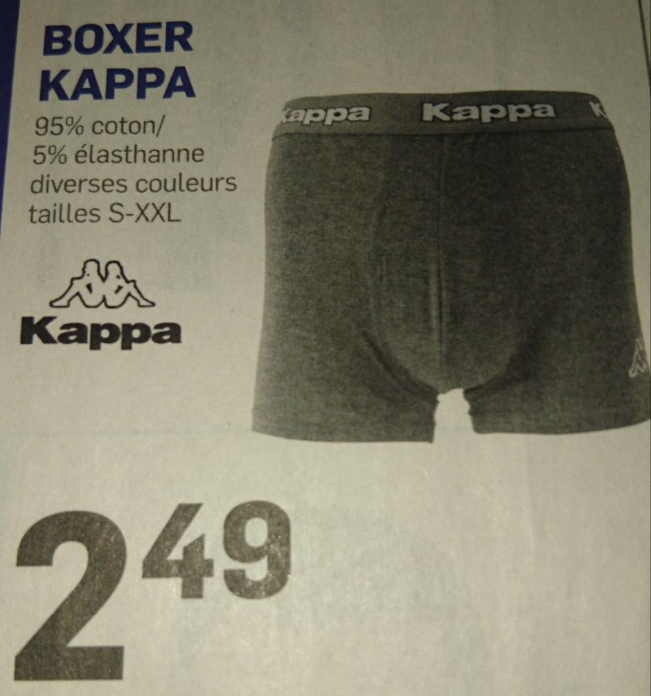 Boxer Kappa - 95% coton