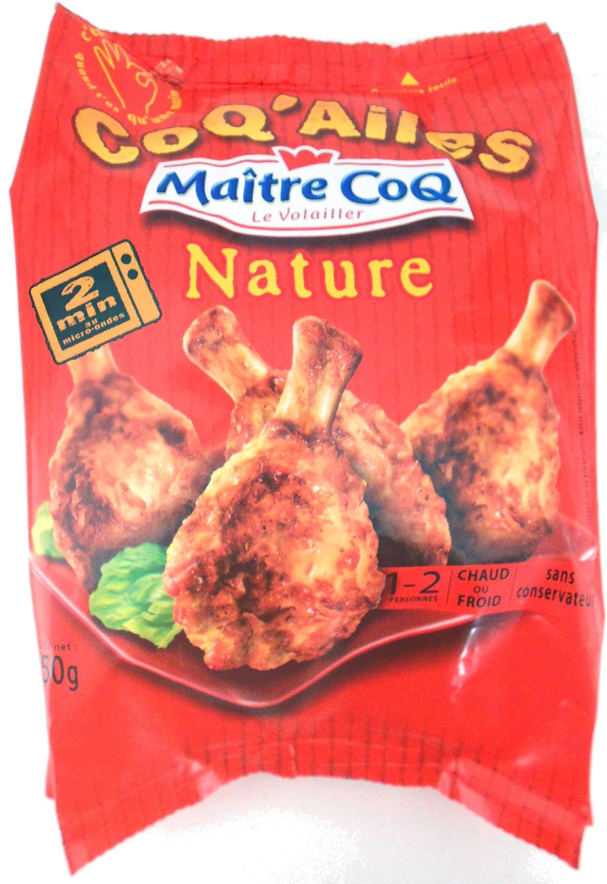 [Carte de fidélité] Sélection d'articles en promotion - Ex : lot de 2 sachets de manchons de poulet Maître Coq Coq'Ailes (nature, 250 g)