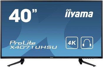 """Écran PC 40"""" Iiyama ProLite X4071UHSU-B1 - 3 ms"""