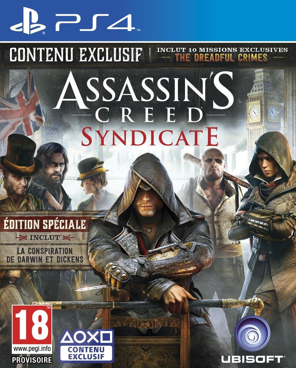 Assassin's Creed Syndicate Édition Spéciale sur PS4, Xbox One et PC