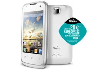 Smartphone Wiko cink+ (avec 20€ ODR) - Via buyster