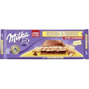2 tablettes de chocolats Milka Extra Gourmand 300g (via BDR)